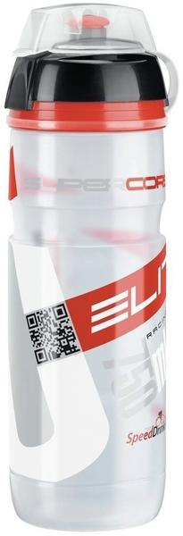 Elite Super Corsa MTB clear/rot 0,75 l