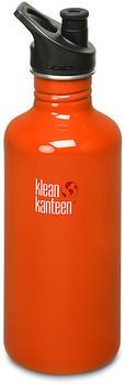 Klean Kanteen Classic (1182 ml) Sport Cap Flame Orange