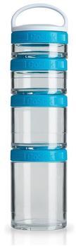 BlenderBottle GoStak Starter 4Pak Aqua