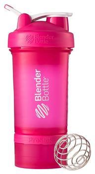 BlenderBottle ProStak Pink, Sport lid