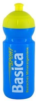 Basica Trinkflasche blau/gelb 0,5 l