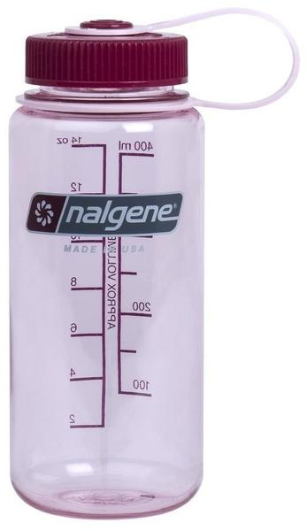 Nalgene Wide Mouth (500 ml) Clear Pink