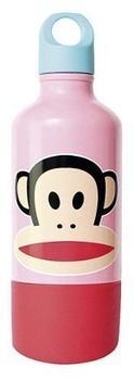 Paul Frank Trinkflasche rosa 0,33 l inkl. Tasse