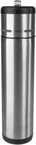 Emsa Mobility Isolier-Trinkflasche 0,7 l Edelstahl/schwarz