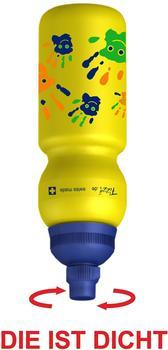 Trinkflaschenexpress Fizzii Hände gelb 0,33 l