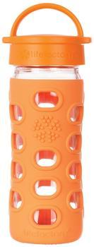 lifefactory Glass Bottle Classic Cap 0.35L Orange