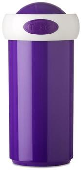 Rosti Mepal Verschlussbecher 275 ml - Campus violett, weißer Rand