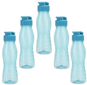 BPA-frei hellblau Steuber culinario Trinkflasche Flip Top 700 ml Inhalt