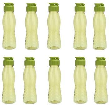 steuber-10-stueck-culinario-trinkflasche-flip-top-bpa-frei-700-ml-inhalt-olivgruen