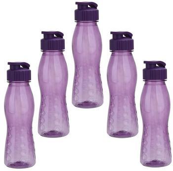 steuber-5-stueck-culinario-trinkflasche-flip-top-bpa-frei-700-ml-inhalt-lila