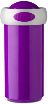 Rosti Mepal Verschlussbecher 275 ml - Campus violett, silberner Rand