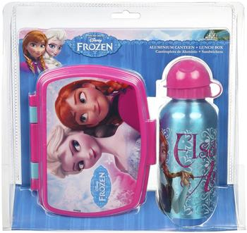 Undercover Kinderset Trinkflasche + Brotdose Frozen