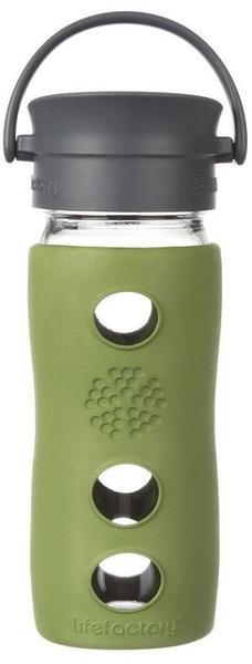 Lifefactory Café Collection Glas-Trinkflasche sage 0,35 l
