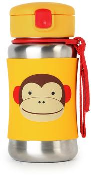Skip Hop Straw Bottle Monkey 0,35 l