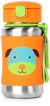 Skip Hop Zoo - Edelstahl Trinkflasche Hund