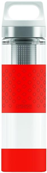 Sigg Hot & Cold Glass WMB Red 0,4 l