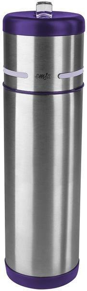 Emsa Mobility Isolierflasche 0,5 l Edelstahl/Brombeer
