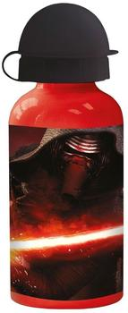 p:os Star Wars Trinkflasche shwarz/rot 0,4 l