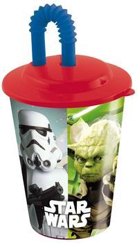 p:os Star Wars Trinkbecher mit Strohhalm
