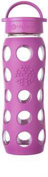 lifefactory Glass Bottle Classic Cap 0.65L Huckleberry