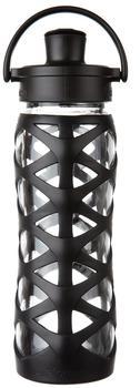 Lifefactory Trinkflasche Active Flip Cap onyx, 650 ml