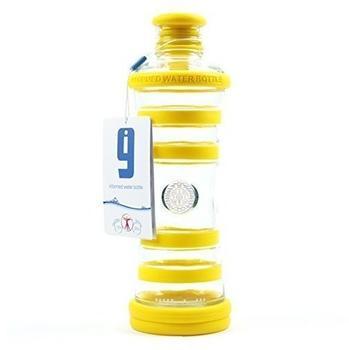 Yogishop i9 Yogaflasche gelb