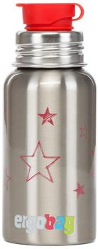 ergobag Pura Edelstahl-Trinkflasche (500ml) Sterne