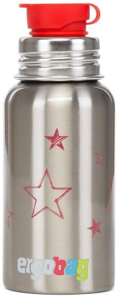 ergobag Pura Edelstahl-Trinkflasche (Sterne)