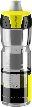 Elite Trinkflasche Crystal Ombra 750ml, schwarz/grau