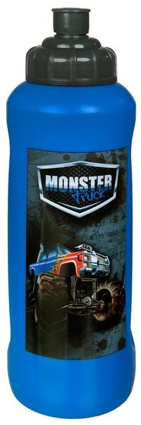 Scooli Trinkflasche Monster Truck, 450 ml blau 450
