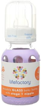 Lifefactory 14911 Babyflasche Lila