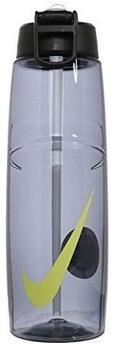 Nike T1 Flow Swoosh Trinkflasche 946ml dunkelblau