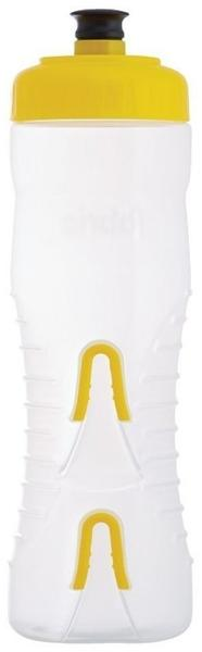 Fabric Waterbottle Cageless (750ml) yellow/clear