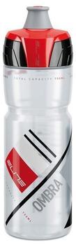 Elite Trinkflasche Ombra 750ml klar rot