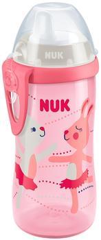 Nuk Trinkflasche Kiddy Cup 300 ml Kunststoff-Trinktülle, r rosa