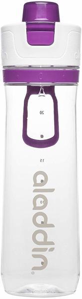 Aladdin Active Hydration Tracker Bottle (0.8L) lila