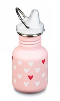 Klean Kanteen Kid Classic (355 ml) Sippy Cap Millenial Hearts