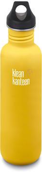 Klean Kanteen Classic (800 ml) Loop Cap Lemon Curry