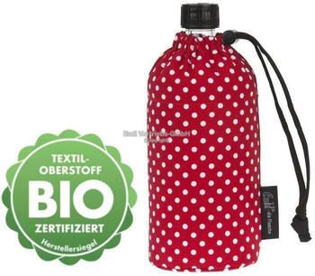 Emil Flasche 0,3L Bio-Punkte Rot