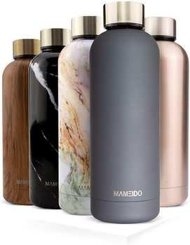 mameido-edelstahl-trinkflasche-smokey-grey-gold-500ml