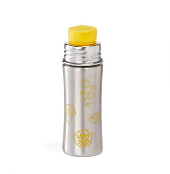 Affenzahn Trinkflasche Tiger gelb/edelstahl, 0,33 Liter