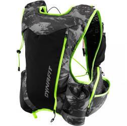 Dynafit SKY Up Pro 12l Hydration Vest black out camo fluo yellow