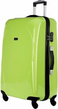 Packenger Vorteils-Koffer Panema L in Grün mit Powerbank und Reisegutschein, 47x27,5x70 cm - Fassungsvolumen: 58 l; 501/24-003-01