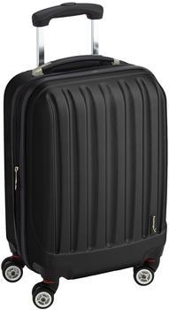 Packenger Koffer Velvet M in Schwarz