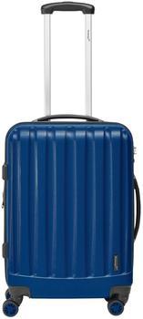 Packenger Velvet 4-Rollen 62 cm74 l dunkelblau