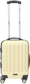 Packenger Hartschalen-Trolley Velvet, 4 Rollen