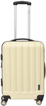 Packenger Velvet 4-Rollen 62 cm74 l creme