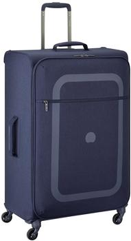 Delsey Dauphine 3 4-Rollen-Trolley 77 cm blue