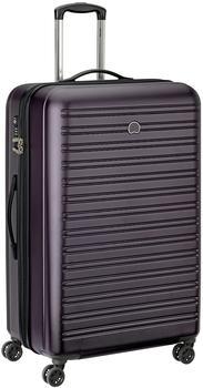 Delsey Segur 4-Rollen-Trolley 81 cm violet