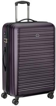 Delsey Segur 4-Rollen-Trolley 78 cm violet